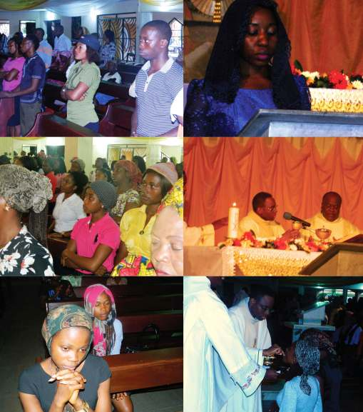 The Moment of Consecration and the reception of the Eucharist by the Faithful