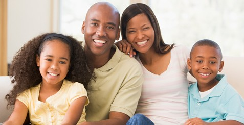 black-happy-family