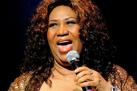 Aretha Franklin Singing @ Philadelphia for Pope Francis