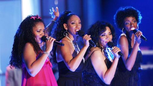 LOS ANGELES - MAY 12: The group Sister Sledge performs at the 13th Annual Race to Erase MS